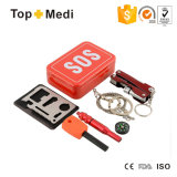 Topmedi Portable Outdoor Sos First Aid Survival Kit