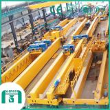 Heavy Duty Double Girder Bridge Crane with Open Winch