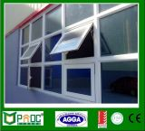Adjustable Aluminum Frame Glass Top Hung Window with Customized Size