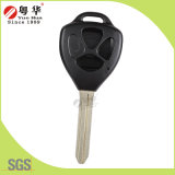 Without Logo 3 Buttons Smart Key Blank