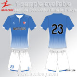 Healong Fresh Design Clothing Gear 100% Polyester Sublimation Students Football Uniforms