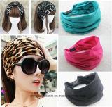 New Variety of Wear Method Cotton Elastic Sports Headband