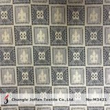 Nylon Cotton Geometric Net Lace Fabric (M3421)