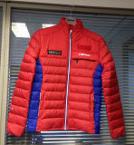 Men Ski Club Wearing Designed Badges Down Jacket