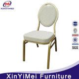 Cheap Stackable Elegant Fashion Rental Hotel Banquet Restaurant Dining Aluminum Steel Chair (XYM-G17)