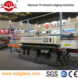 Automatic PLC Control 10 Wheels Glass Edge Polishing Machine