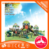 Physical Outdoor Playground Entertaining Plastic Slide