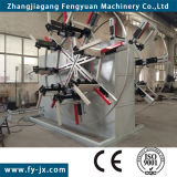 Double Station Plastic Pipe Winder Machine
