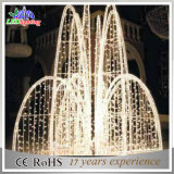 LED Christmas Fountain Lights Christmas Outdoor Decorations and Lighting