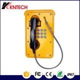 Multifunction Marine Phone Knsp-09 IP67 Robust Telephone Aluminium Alloy Phone