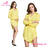Long Sleeve Blouse Formal Dress Gown Evening Dress