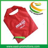Reusable Nylon Foldable Strawberry Shaped Shopping Bag