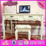 2017 Wholesale Fashion Wooden Bedroom Vanity Furniture, Solid Wooden Youth Bedroom Vanity Furniture W08g192