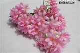 Whole Year Decor Artificial Flower Bouquet Pink Simulation Flower Bunch