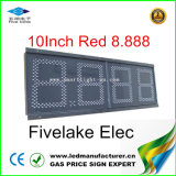 Ce Approved Outdoor LED Gas Price Display (NL-TT25-3R-RED-EU)