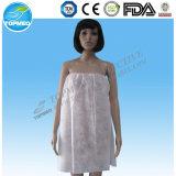 Disposable Nonwoven Spunlace Soft Bathrobe/Bath Gown