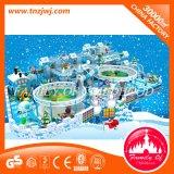 Ice Design Kids Amusement Indoor Soft Playground Equipment for Sale