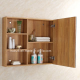 Wooden Grain Type Stainless Steel Bathroom Cabinet