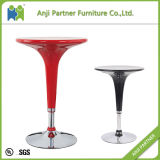 High ABS Plastic Bar Stool Swivel Table and Chairs (Danas)
