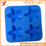 Star Silicone Cake Mold of Ruber Cake Mould Bear High Temperature Stong Stretch (YB-HR-135)