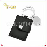 Hot Sale Promotional PU Leather Photoframe Key Ring