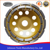 Od150mm Diamond Cup Wheel with Double Row for Stone