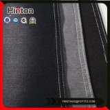 Black Color 20s+21s+70d Spandex Denim Fabric for Garment