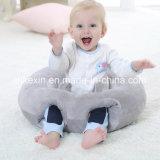 Soft Round Plush Fabric PP Cotton Baby Pillow
