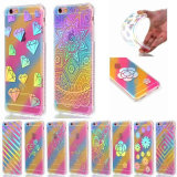 Cell Phone Colorfull Cover Laser Rainbow TPU Case for iPhone6 6plus