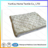 Waterproof Smooth Bamboo Fiber Diamond Quilting Mattress Pad Protector