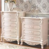 Drawer Chest and Wood Cabinet for Bedroom Furniture Set
