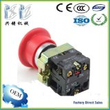 Xb2- Bc45 Red Color 22mm 1 Nc +1 No 40mm Mushroom Head Spring Return Push Button Switch