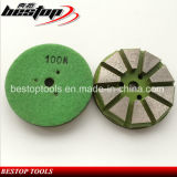 100# Medium Bond Hook & Loop Backing Grinding Tools for Concrete
