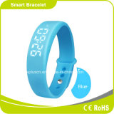Trace Calorie 3D Pedometer Silent Alarm LED Display Android Bluetooth Watch