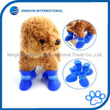 Cute Dog Rain Snow Boots Shoes Rubber Waterproof Anti-Slip