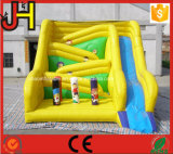 Inflatable Winding Slide, Inflatable Slide Wind Style, Unique Combo Inflatable Slide