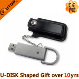 Promotional Gifts Metal Leather USB Key (YT-5107)