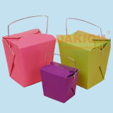 Disposable Paper Food Box Carton Erect Machine