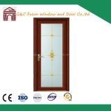 Wood Grain Aluminium Casement Doors