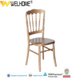 Solid Wooden Gold Versalles Chair, Napoleon Chairs for Events