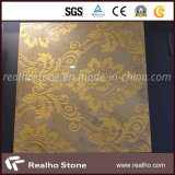 Golden Yellow Mosaic Pattern for Background Wall Tile