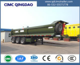 Cimc 50ton Stone Sand Coal Loading Heavy Duty Tipper Trailer Dump Truck Chassis