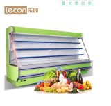 Popular Vertical Type Fruit and Vegetable Display Cooler