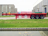 40ft Container Flatbed Trailer and Semi Truck Trailer for Tongya (CTY6112GHY)