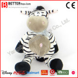 Custom Soft Cuddle Toy Stuffed Animal Plush Zebra for Kids/Children