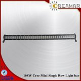 90W CREE Single Row LED Light Bar for 4X4