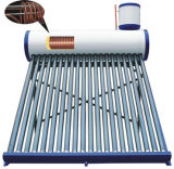 Copper Coil Pressure Solar Water Heater with CE