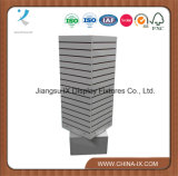 Four Sides Rotating Slatwall Tower for Retail