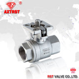2PC 1000wog Stainless Steel Ball Valve with ISO5211