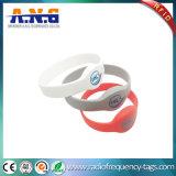 Waterproof Flexible Smart RFID Rewearable Silicone Wristbands